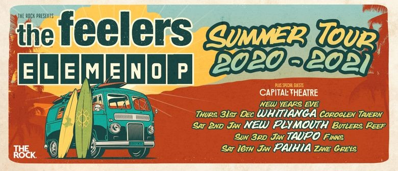 The Feelers and Elemeno P reveals The Tour of the Summer dates