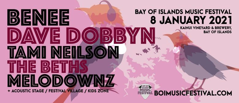 Dave Dobbyn & Melodownz Joins the Bay of Islands Music Festival