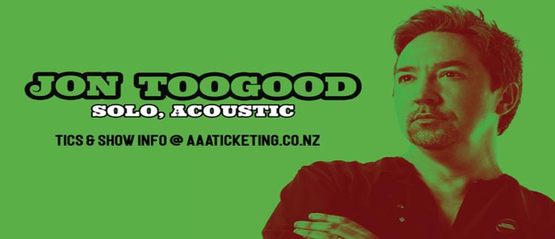 Jon Toogood Solo Tour