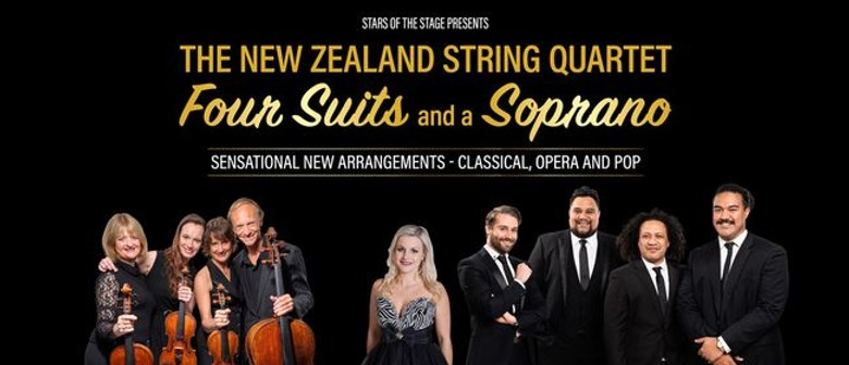 The New Zealand String Quartet reveals Four Suits And A Soprano's nationwide tour dates