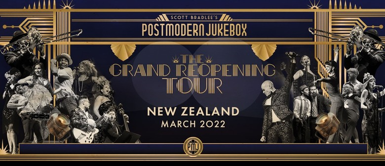 Scott Bradlee's Postmodern Jukebox celebrates The Grand Reopening with a worldwide tour