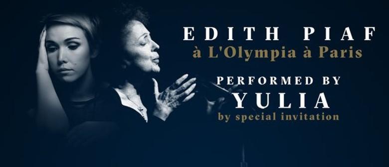 Edith Piaf - à L'Olympia à Paris adds Auckland performance + shows in Wellington & ChCh