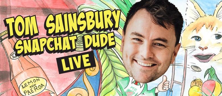 Tom Sainsbury's comedy hits NZ roads this October & November