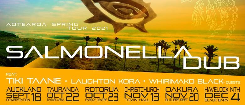 Salmonella Dub announce Aotearoa Spring Tour 2021