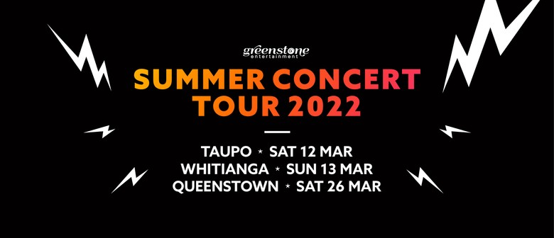 Dates announced for Summer Concert Tour 2022