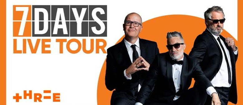 NZ's longest running and best-loved comedy TV show 7 Days Live is hitting the road again