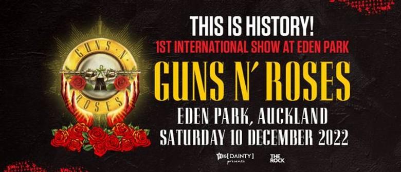 Guns N' Roses announce Auckland show; reschedule Wellington date for 2022