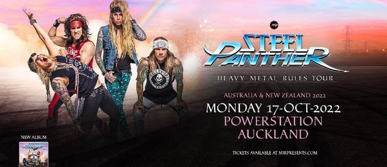 Steel Panther reschedule 'Heavy Metal Rules' Show to October 2022