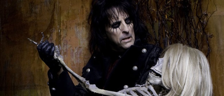 Alice Cooper Returns to New Zealand
