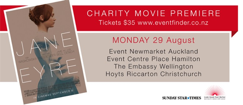 Be The First to See Jane Eyre and Support a Great Cause