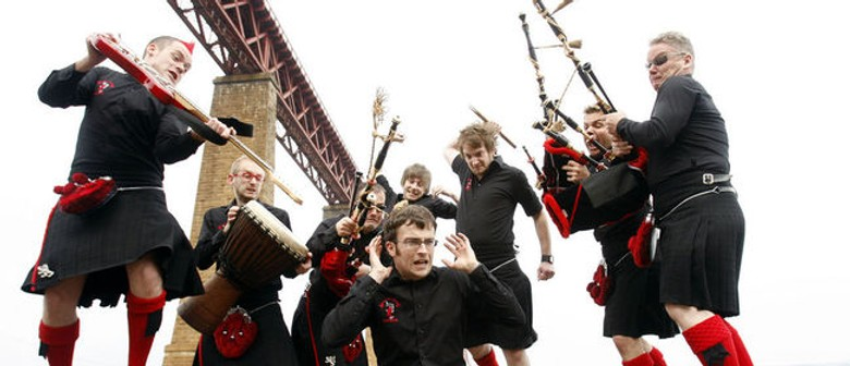 The Red Hot Chilli Pipers Bring Bagrock To The Masses