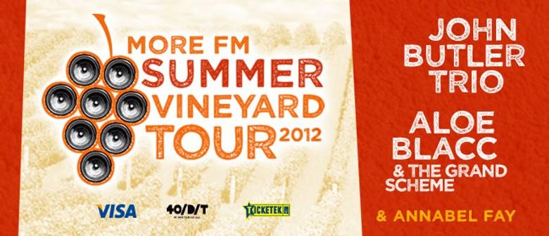 Aloe Blacc & John Butler Headline MoreFM's Summer Vineyard Tour