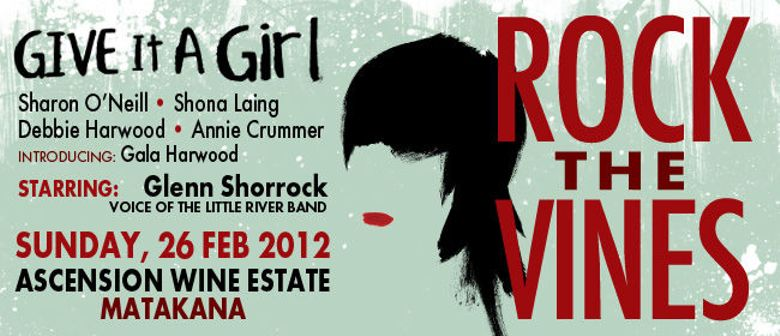 Glenn Shorrock Rocks the Vines with Give It A Girl