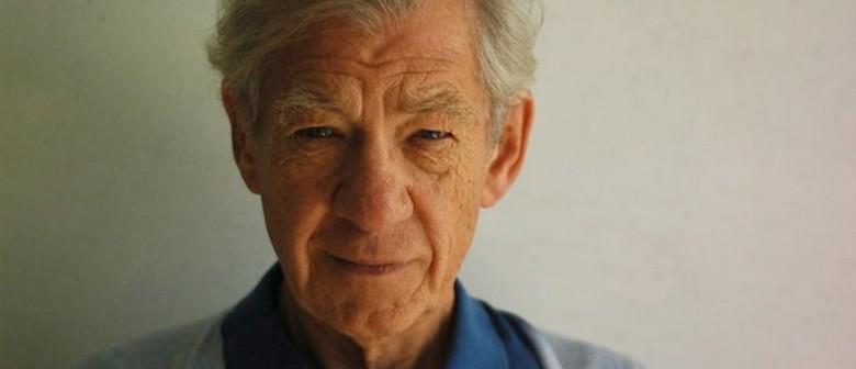 Ian McKellen on Stage in New Zealand