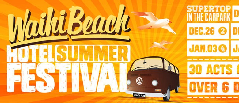 Waihi Beach Hotel Summer Festival Announced