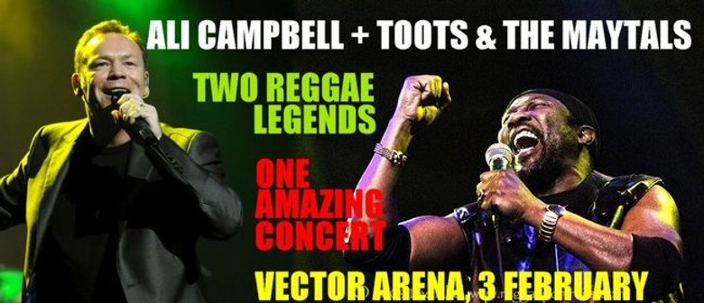 Ali Campbell + Toots and the Maytals One Auckland Show