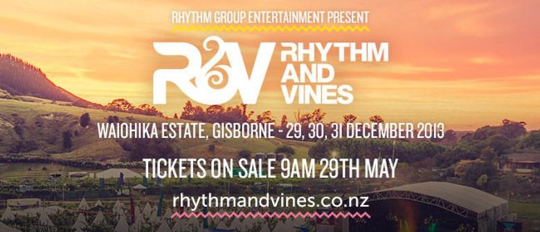 Rhythm & Vines and Rhythm & Alps 2013 Announced