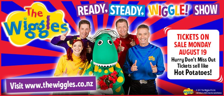 The Wiggles Return - It's Ready, Steady, Wiggle Time
