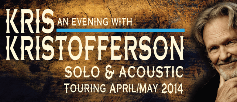 Kris Kristofferson NZ Tour