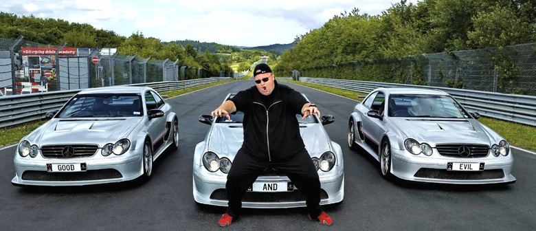 Kim Dotcom at Rhythm and Vines
