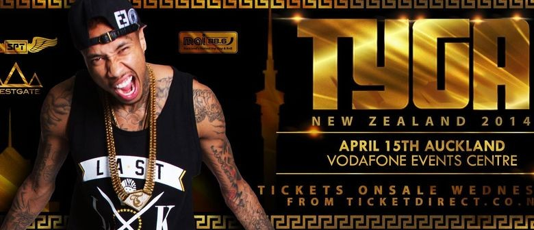 Tyga Auckland Concert