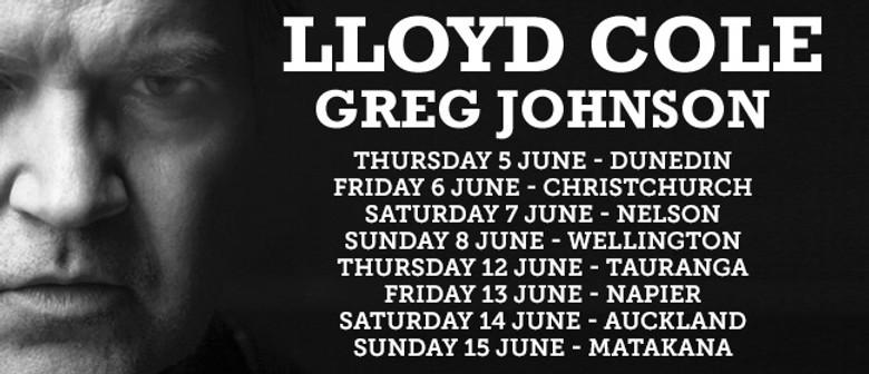 Lloyd Cole NZ Tour