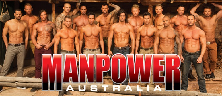 Win a Double Pass to Manpower Australia 'Thunder from Down Under'