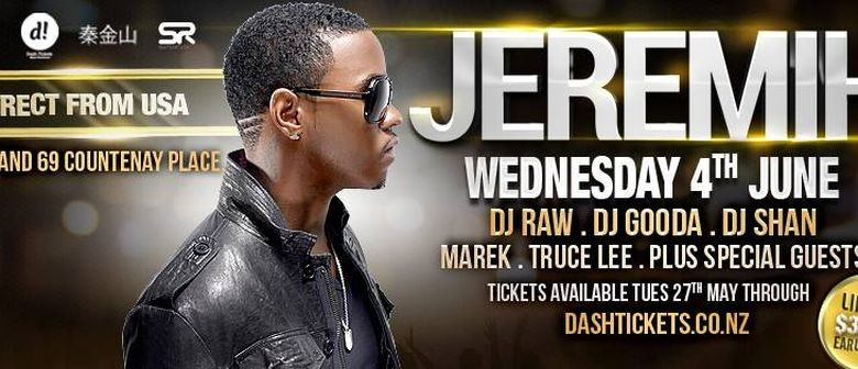 Jeremih Announces Wellington Concert