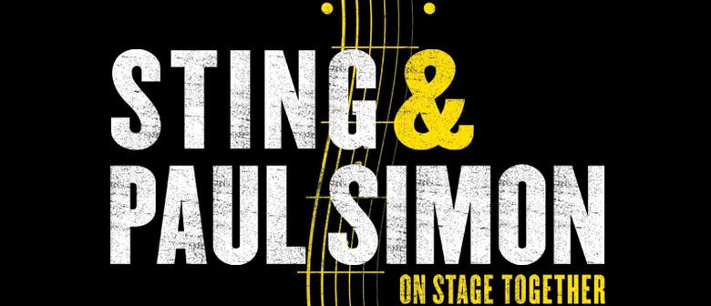 Paul Simon and Sting Auckland Concert