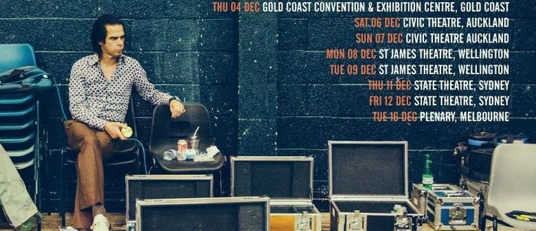 Nick Cave New Zealand Tour Sold Out