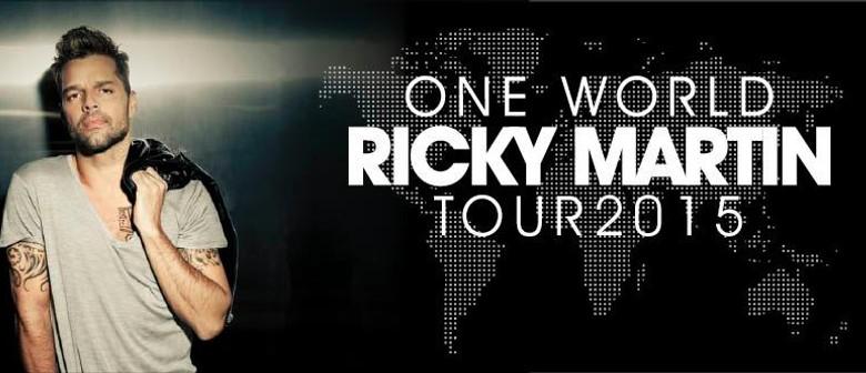 Ricky Martin New Zealand Tour