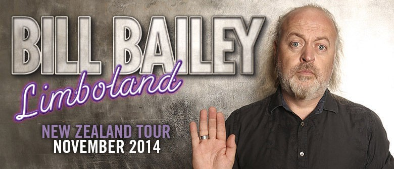 Extra Dates for Bill Bailey's NZ Tour