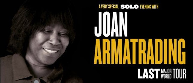 Joan Armatrading New Zealand Tour
