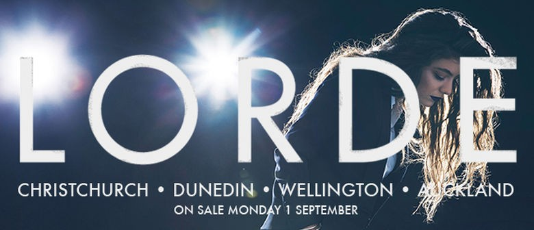 Lorde New Zealand Tour