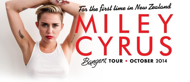 Miley Cyrus New Zealand Concert