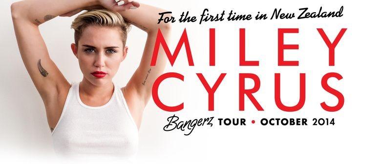 Miley Cyrus New Zealand Concert