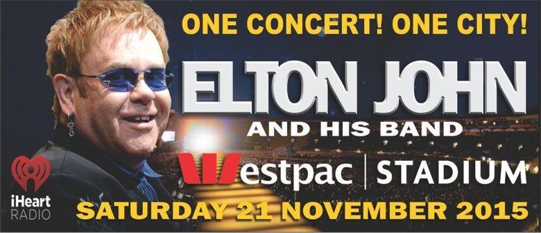 Elton John Announces Wellington Concert