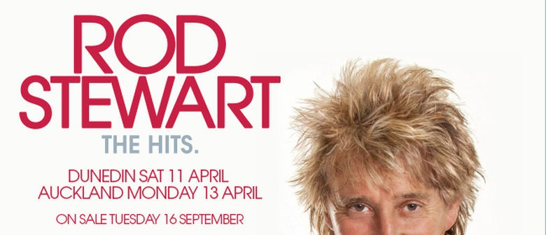 Rod Stewart New Zealand Tour