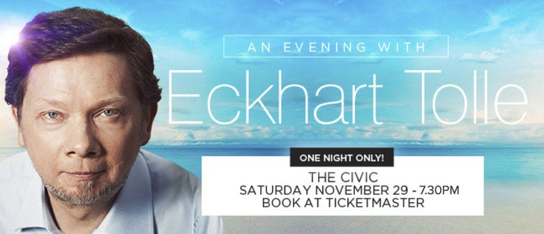 An Evening With Spiritual Teacher and Author Eckhart Tolle