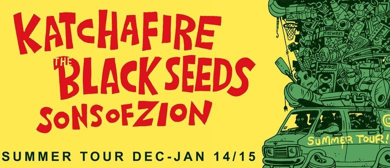 The Black Seeds, Katchafire, Sons of Zion Announce Summer Tour