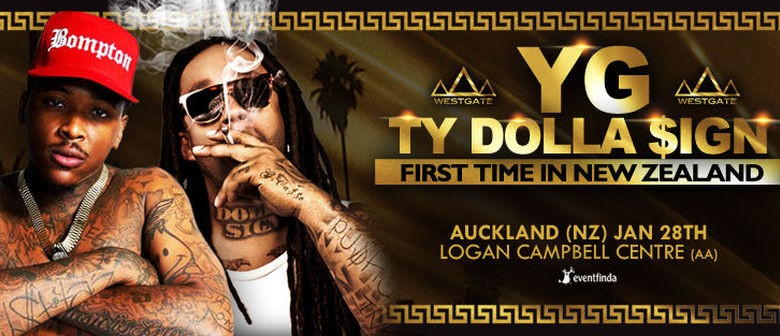 YG and Ty Dolla $ign Announce Auckland Concert