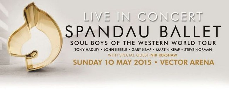Spandau Ballet to Play Auckland Concert