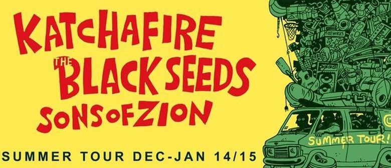 The Black Seeds, Katchafire to Play Reggae by the River