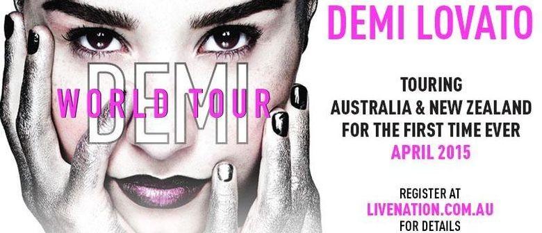 Demi Lovato Announces Auckland Concert
