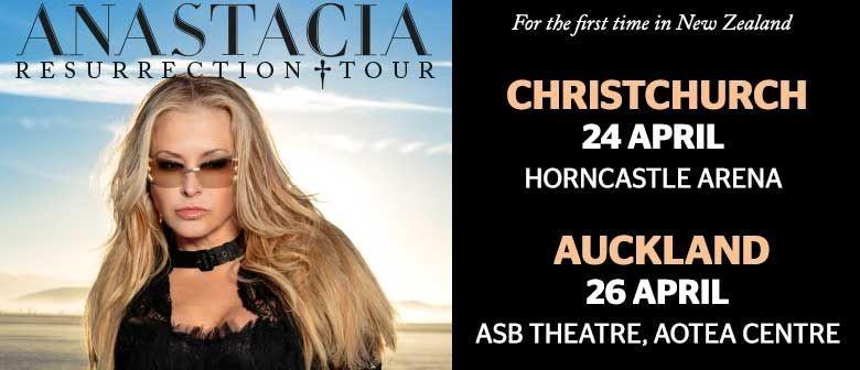 Anastacia Announces New Zealand Tour