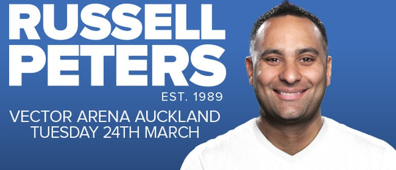 Russell Peters Announces Vector Arena Show