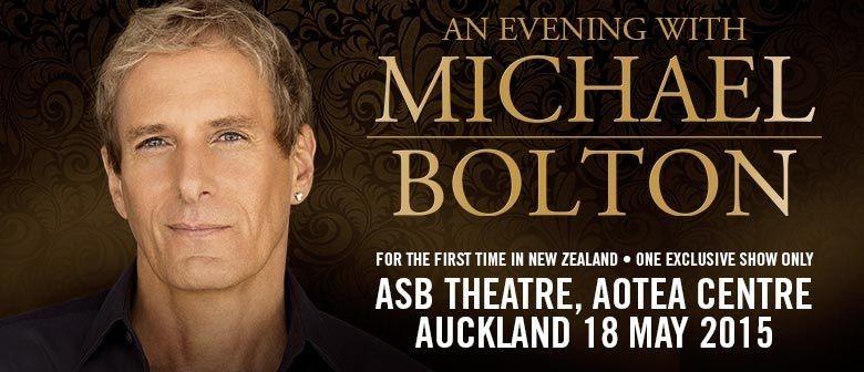 Michael Bolton Announces Auckland Concert
