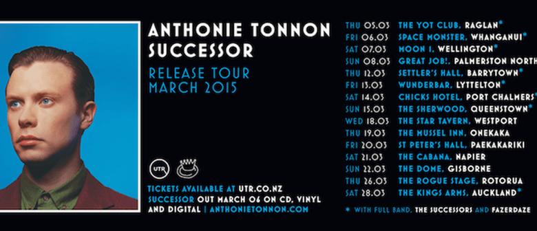 Anthonie Tonnon Announces NZ Tour