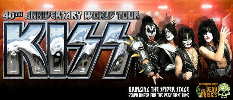 Kiss Announce Auckland Concert