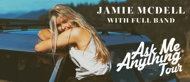 Jamie McDell Announces New Zealand Tour